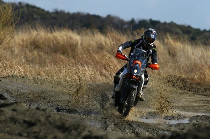 ハルキ KTM450Rally Aki Kusudo