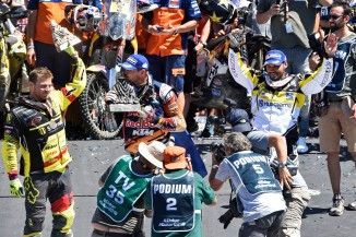KTMのトビー・プライスとステファン・スビッコ Bauer E./RallyZone